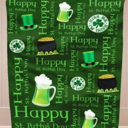St. Patrick's Day Iconic Pattern Blanket!!! Thumbnail