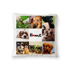 NEW!! Personalized Home Photo Throw Pillow (Microfiber, Fleece, or Polypoplin) Thumbnail