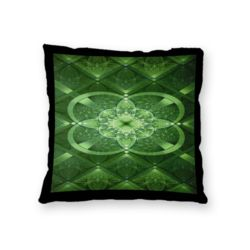 NEW!!! Celtic Green Throw Pillow - Microfiber, Fleece, or Polypoplin Thumbnail