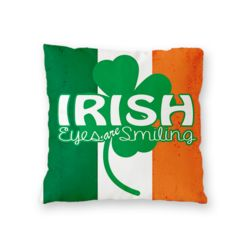 NEW!!! Irish Eyes Singing Throw Pillow - Microfiber, Fleece, or Polypoplin Thumbnail